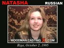 Natasha casting video from WOODMANCASTINGX by Pierre Woodman