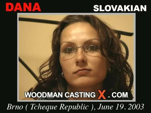 Dana - `Dana casting` - by Pierre Woodman for WOODMANCASTINGX