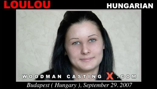 Loulou - `Loulou casting` - by Pierre Woodman for WOODMANCASTINGX