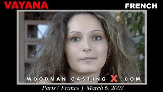 Vayana - `Vayana casting` - by Pierre Woodman for WOODMANCASTINGX