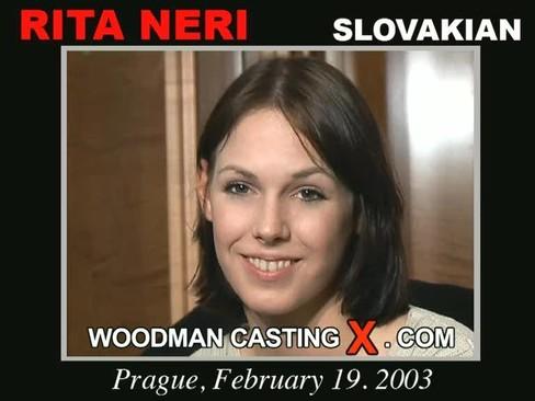 Rita Neri - `Rita Neri casting` - by Pierre Woodman for WOODMANCASTINGX