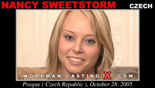 Nancy Sweetstorm - `Nancy Sweetstorm casting` - by Pierre Woodman for WOODMANCASTINGX