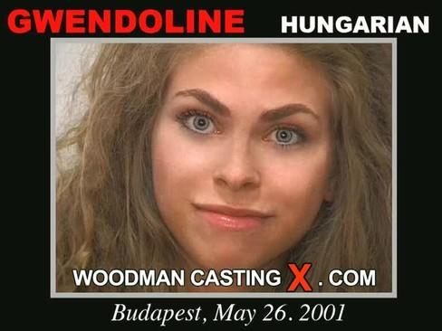 Gwendoline - `Gwendoline casting` - by Pierre Woodman for WOODMANCASTINGX
