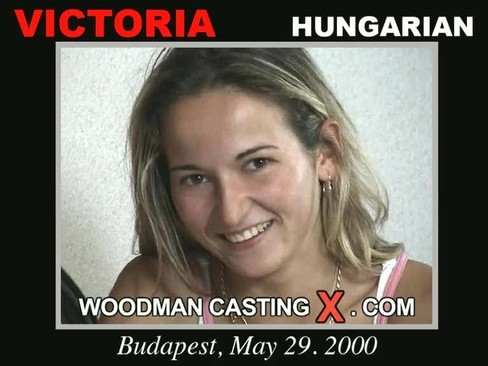 Victoria - `Victoria casting` - by Pierre Woodman for WOODMANCASTINGX