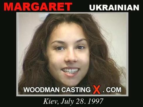 Margaret - `Margaret casting` - by Pierre Woodman for WOODMANCASTINGX