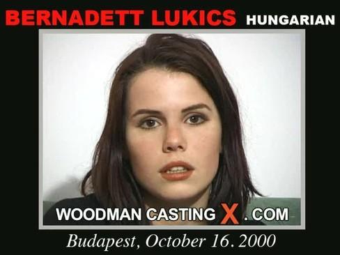 Bernadett Lukics - `Bernadett Lukics casting` - by Pierre Woodman for WOODMANCASTINGX