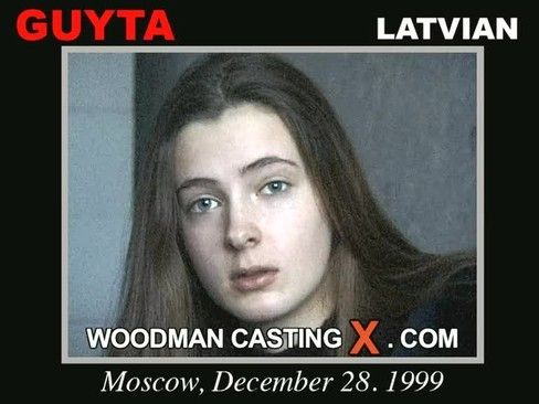 Guyta - `Guyta casting` - by Pierre Woodman for WOODMANCASTINGX
