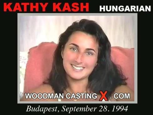 Kathy Kash - `Kathy Kash casting` - by Pierre Woodman for WOODMANCASTINGX