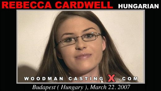 Rebecca Cardwell - `Rebecca Cardwell casting` - by Pierre Woodman for WOODMANCASTINGX