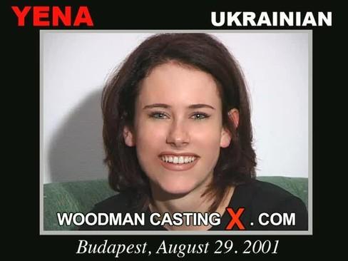 Yena - `Yena casting` - by Pierre Woodman for WOODMANCASTINGX