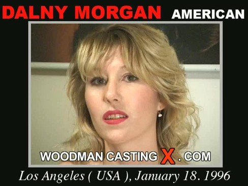 Dalny Morgan - `Dalny Morgan casting` - by Pierre Woodman for WOODMANCASTINGX