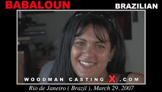 Babaloun - `Babaloun casting` - by Pierre Woodman for WOODMANCASTINGX