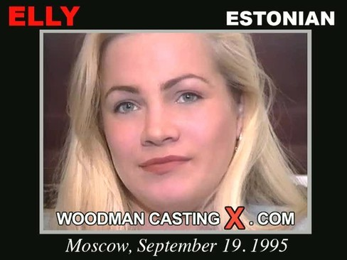 Elly - `Elly casting` - by Pierre Woodman for WOODMANCASTINGX