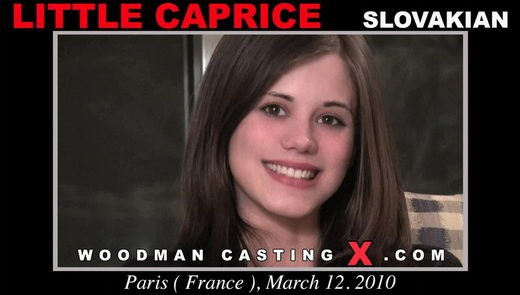 Little Caprice - `Little Caprice casting` - by Pierre Woodman for WOODMANCASTINGX