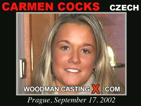 Carmen Cocks - `Carmen Cocks casting` - by Pierre Woodman for WOODMANCASTINGX