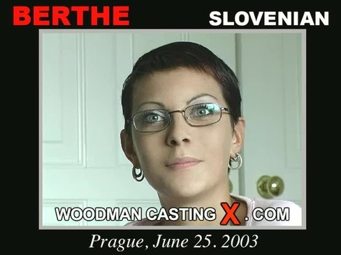 Berthe - `Berthe casting` - by Pierre Woodman for WOODMANCASTINGX