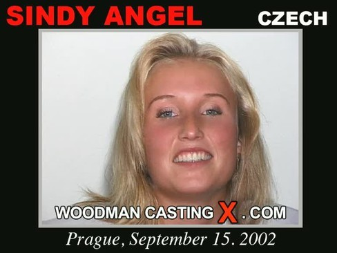 Sindy Angel - `Sindy Angel casting` - by Pierre Woodman for WOODMANCASTINGX