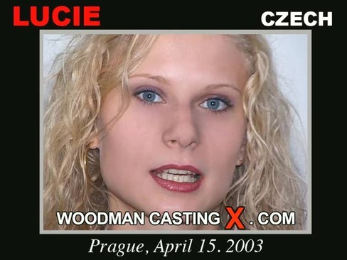 Lucie - `Lucie casting` - by Pierre Woodman for WOODMANCASTINGX