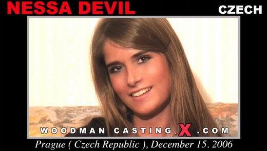 Nessa Devil - `Nessa Devil casting` - by Pierre Woodman for WOODMANCASTINGX