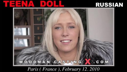 Teena Doll - `Teena Doll casting` - by Pierre Woodman for WOODMANCASTINGX