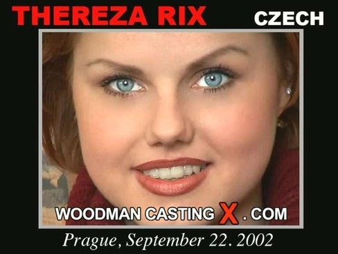 Thereza Rix - `Thereza Rix casting` - by Pierre Woodman for WOODMANCASTINGX