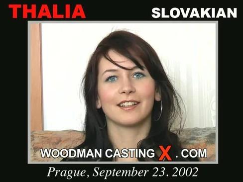 Thalia - `Thalia casting` - by Pierre Woodman for WOODMANCASTINGX