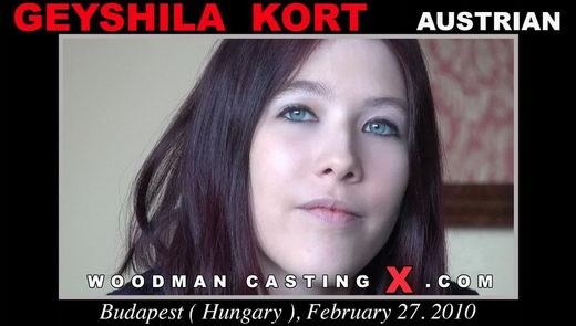 Geyshila Kort - `Geyshila Kort casting` - by Pierre Woodman for WOODMANCASTINGX