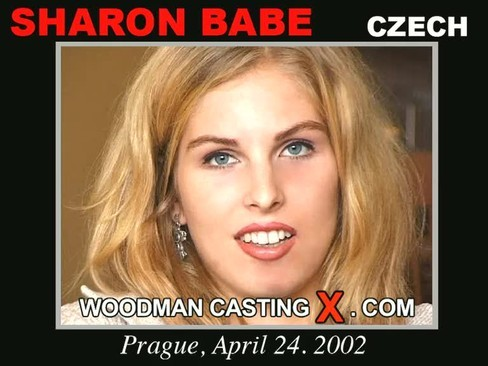 Sharon Babe - `Sharon Babe casting` - by Pierre Woodman for WOODMANCASTINGX