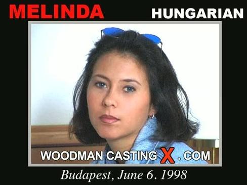 Melinda - `Melinda casting` - by Pierre Woodman for WOODMANCASTINGX
