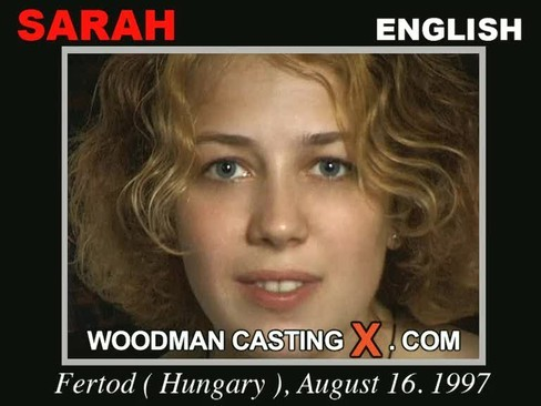 Sarah - `Sarah casting` - by Pierre Woodman for WOODMANCASTINGX