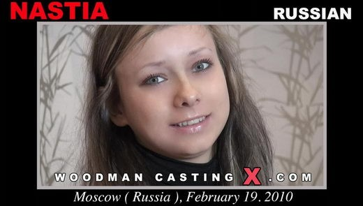 Nastia - `Nastia casting` - by Pierre Woodman for WOODMANCASTINGX