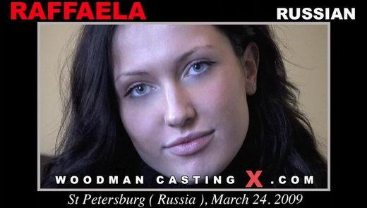 Raffaella - `Raffaella casting` - by Pierre Woodman for WOODMANCASTINGX