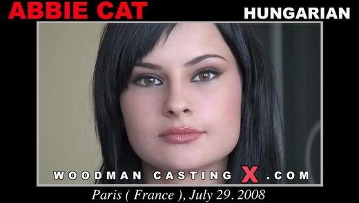 Abbie Cat - `Abbie Cat casting` - by Pierre Woodman for WOODMANCASTINGX