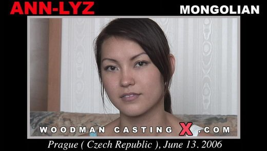 Ann-lyz - `Ann-lyz casting` - by Pierre Woodman for WOODMANCASTINGX