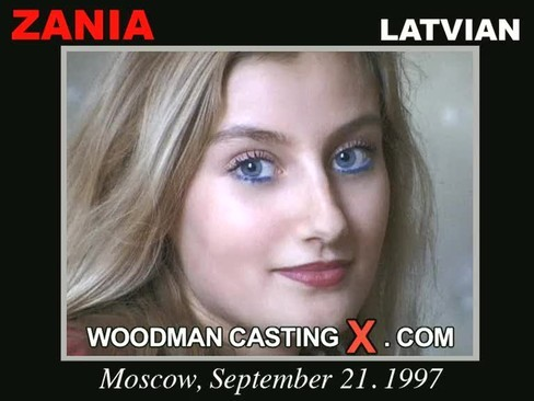 Zania - `Zania casting` - by Pierre Woodman for WOODMANCASTINGX