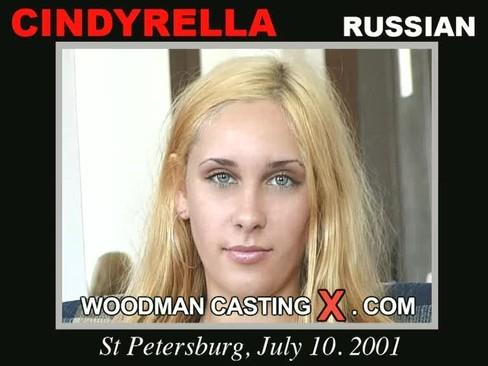 Cindyrella - `Cindyrella casting` - by Pierre Woodman for WOODMANCASTINGX