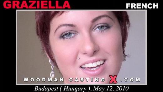 Graziella - `Graziella casting` - by Pierre Woodman for WOODMANCASTINGX