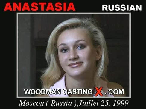 Anastasia - `Anastasia casting` - by Pierre Woodman for WOODMANCASTINGX