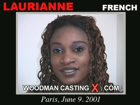 Laurianne - `Laurianne casting` - by Pierre Woodman for WOODMANCASTINGX