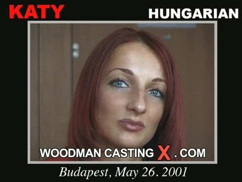 Katy - `Katy casting` - by Pierre Woodman for WOODMANCASTINGX