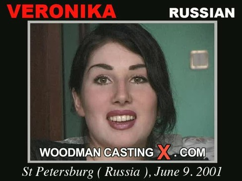 Veronika - `Veronika casting` - by Pierre Woodman for WOODMANCASTINGX