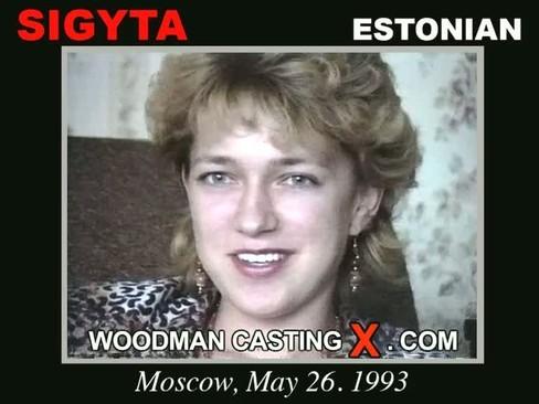 Sigyta - `Sigyta casting` - by Pierre Woodman for WOODMANCASTINGX