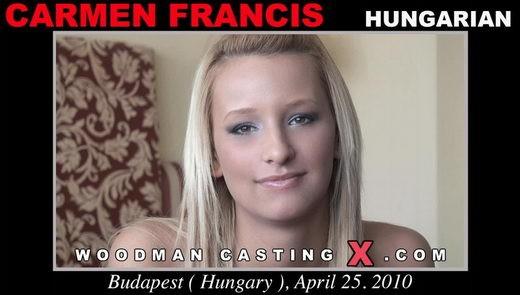 Carmen Francis - `Carmen Francis casting` - by Pierre Woodman for WOODMANCASTINGX