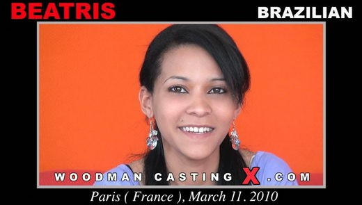 Beatris - `Beatris casting` - by Pierre Woodman for WOODMANCASTINGX