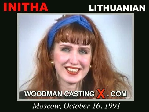 Initha - `Initha casting` - by Pierre Woodman for WOODMANCASTINGX