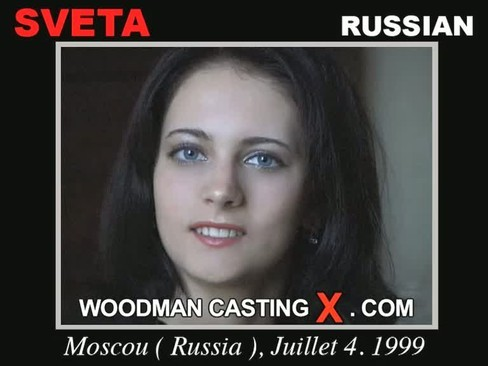 Sveta - `Sveta casting` - by Pierre Woodman for WOODMANCASTINGX
