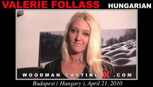 Valerie Follass - `Valerie Follass casting` - by Pierre Woodman for WOODMANCASTINGX