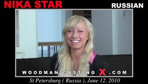 Nika Star - `Nika Star casting` - by Pierre Woodman for WOODMANCASTINGX