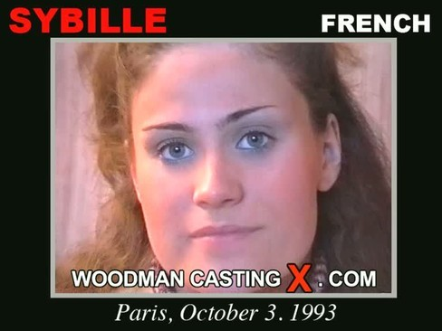 Sybille - `Sybille casting` - by Pierre Woodman for WOODMANCASTINGX