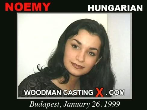 Noemy - `Noemy casting` - by Pierre Woodman for WOODMANCASTINGX